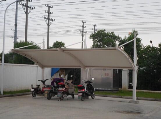 室外自行车棚